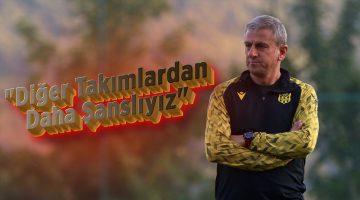 """Hamza Hamzaoğlu: """"Diğer takımlardan daha şanslıyız"""""""