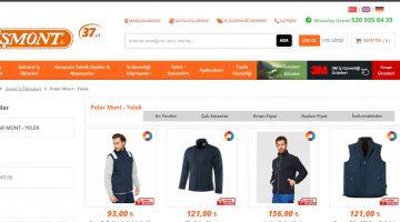 İşmont'da Kaliteli ve Ucuz Polar Mont Fiyatları
