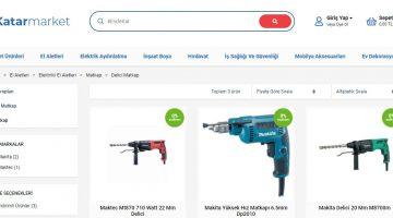 En Uygun Delici Matkap Fiyatları Katar Market Web Sayfasında!