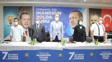 Ak Parti'de Doğanyol ve Pötürge İlçelerinin Kongreleri yapıldı