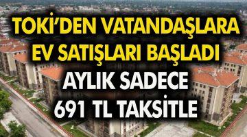 TOKİ Engeli vatandaşlara uygun fiyatlı ev satışına başladı! Aylık sadece 691 TL taksitle…