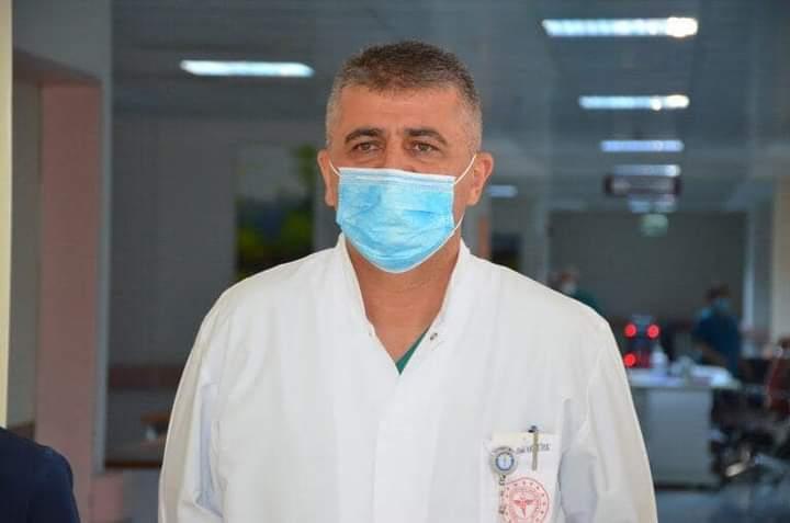 MTÜ Eğitim ve Araştırma Hastanesi Başhekimi Aktürk, COVİD-19'a Yakalandı