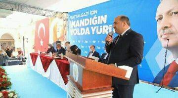 Ak Parti Battalgazi İlçe Başkanı Kahveci Güven Tazeledi