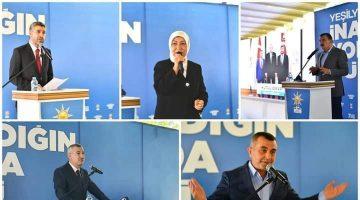 AK Parti Yeşilyurt ilçe olağan kongresi yapıldı
