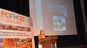 3. Uluslararası Fiziksel Kimya ve Fonksiyonel Malzemeler Konferansı başladı.