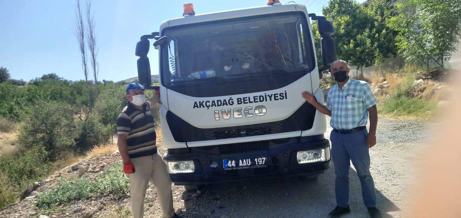 Akçadağ Belediyesi Hijyen Kurallarına Azami Özen Gösteriliyor