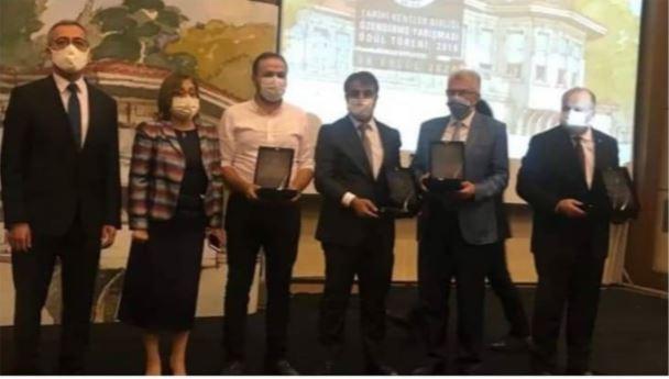 Malatya Büyüksehir Belediyesine Ödül