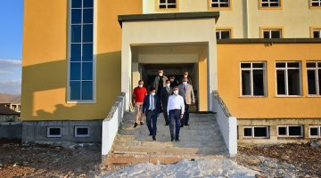 Vali Baruş Doğanşehir'de İncelemelerde Bulundu