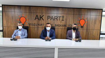 AK Parti Yeşilyurt İlçe 7.Olağan Kongresi 13 Eylül Pazar Günü Açık Alanda Yapılacak