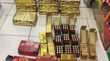 Sahte Cinsel İçerikli Çikolata ve İçecek Ele Geçirildi