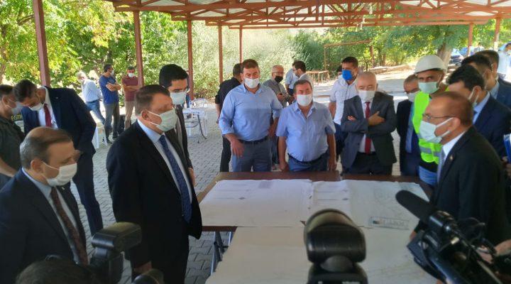 Akçadağ'da Başkan Gürkan MASKİ'nin Biten Alt Yapı Çalışmasını inceledi