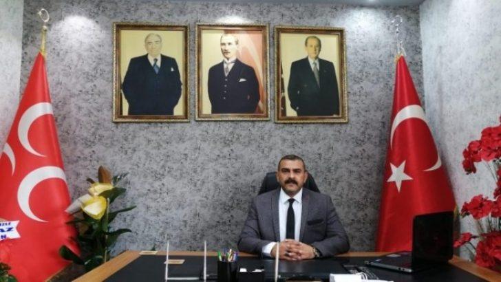 MHP Battalgazi İlçe Başkanı İlhan İlhan'nın Mevlid kandili mesajı;