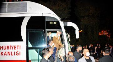 Başkan Gürkan, Cumhurbaşkanı Erdoğan'ı Park Makamda Ağırladı