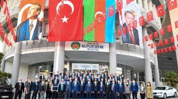 Gürkan'dan Büyükşehir Personeline Teşekkür: