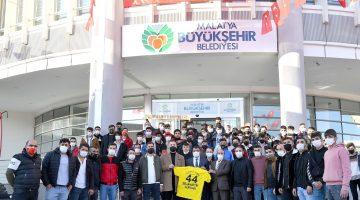 Yenimalatyaspor Taraftarlarından Başkan Gürkan'a Ziyaret