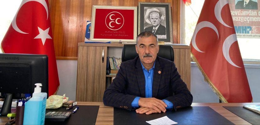 """Başkan Kılıç """"Türk Ordusuna düşmanlık, düşmana askerliktir"""""""