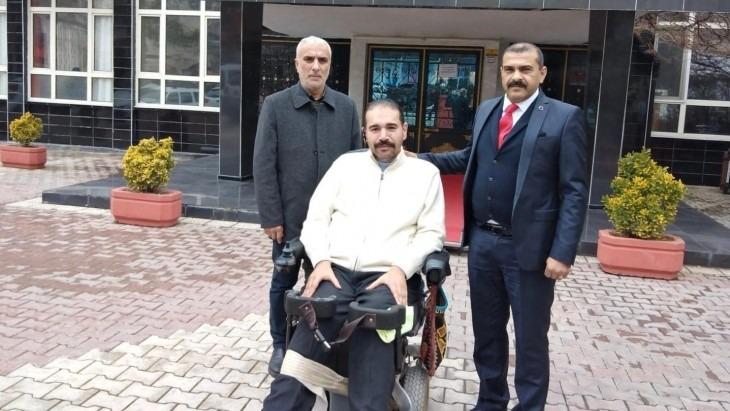 """MHP Battalgazi İlçe Başkanı İlhan İlhan'ın """" 3 Aralık Dünya Engelliler günü """" Mesajı"""