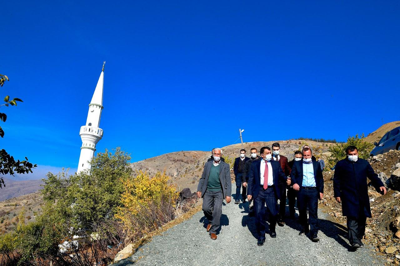 Başkan Gürkan Pütürge,Tekederesi'nde İncelemelerde Bulundu: