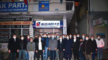 """Başkan Gürkan Ak Parti Akçadağ Gençlik Kollarını Ziyaret Etti """"Birlik Ve Beraberliğimizi Muhafaza Etmeliyiz"""""""