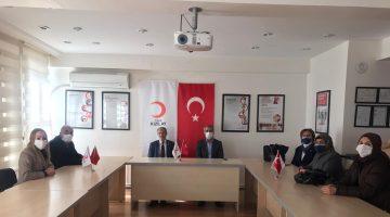 BBP'den Türk Kızılay Malatya Şubesine Ziyaret
