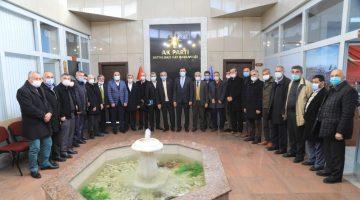 Milletvekili Tüfenkci, Güder Ve Kahveci Muhtarlarla Bir Araya Geldi