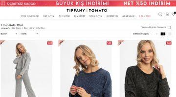 Uzun Kollu Bluz Modelleri