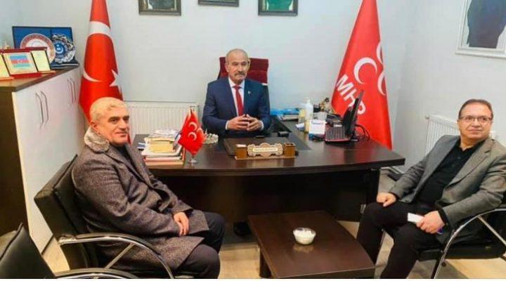 Başkan Kazgan'dan MHP Yeşilyurt İlçe Teşkilatına Ziyaret