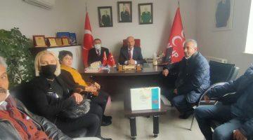 İYİ Parti Yeşilyurt İlçe' den, MHP Yeşilyurt İlçe Teşkilatına Ziyaret