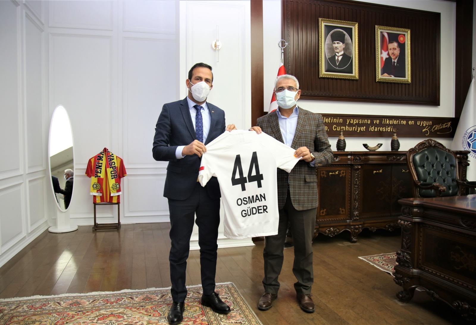 Malatyaspor Yönetimin'den Başkan Güder'e Ziyaret