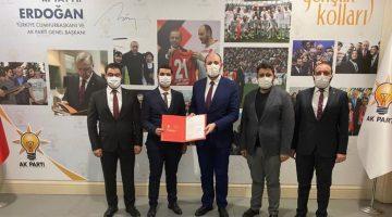 Ak Parti Malatya; Gençlik Kolları Başkanlığına M. Sinan Özhüsrev atandı
