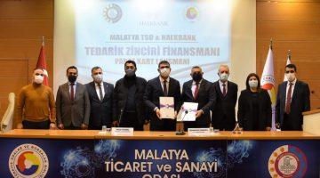 – Malatya TSO ile Halk Bankası arasında iş birliği protokolü imzalandı