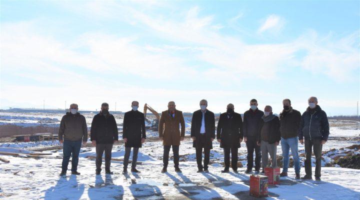 Yeni arıtma tesisinin yapımına başlandı