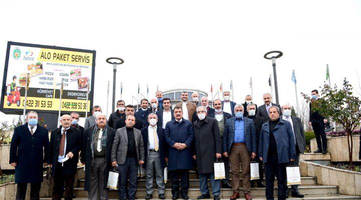 Muhtarlardan Başkan Gürkan'a Hizmet Teşekkürü