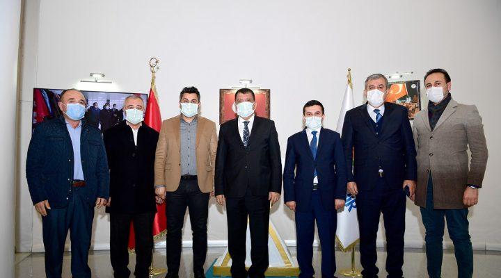 Başkan Gürkan Baskil Kaymakamını Makamında Ağırladı: