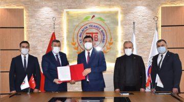 Malatya Ticaret Borsası ve Halk Bankası Arasında İşbirliği Protokolü İmzalandı