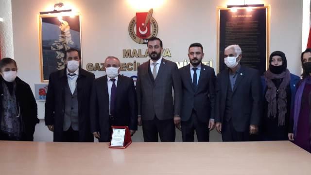 İYİ Parti Battalgazi Teşkilatı MGC'ni Ziyaret Etti