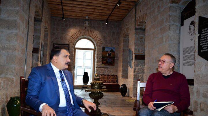 Başkan Gürkan, 'Senin Şehrin' Programına Konuk Oldu