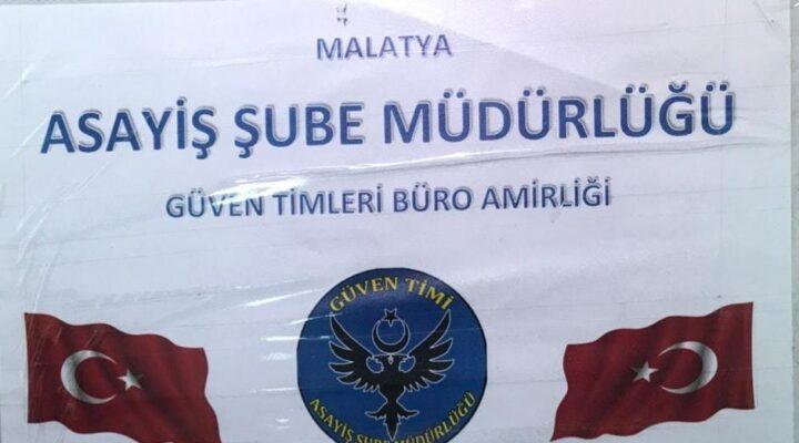 Malatya Polis'i Suçlulara Göz Açtırmıyor