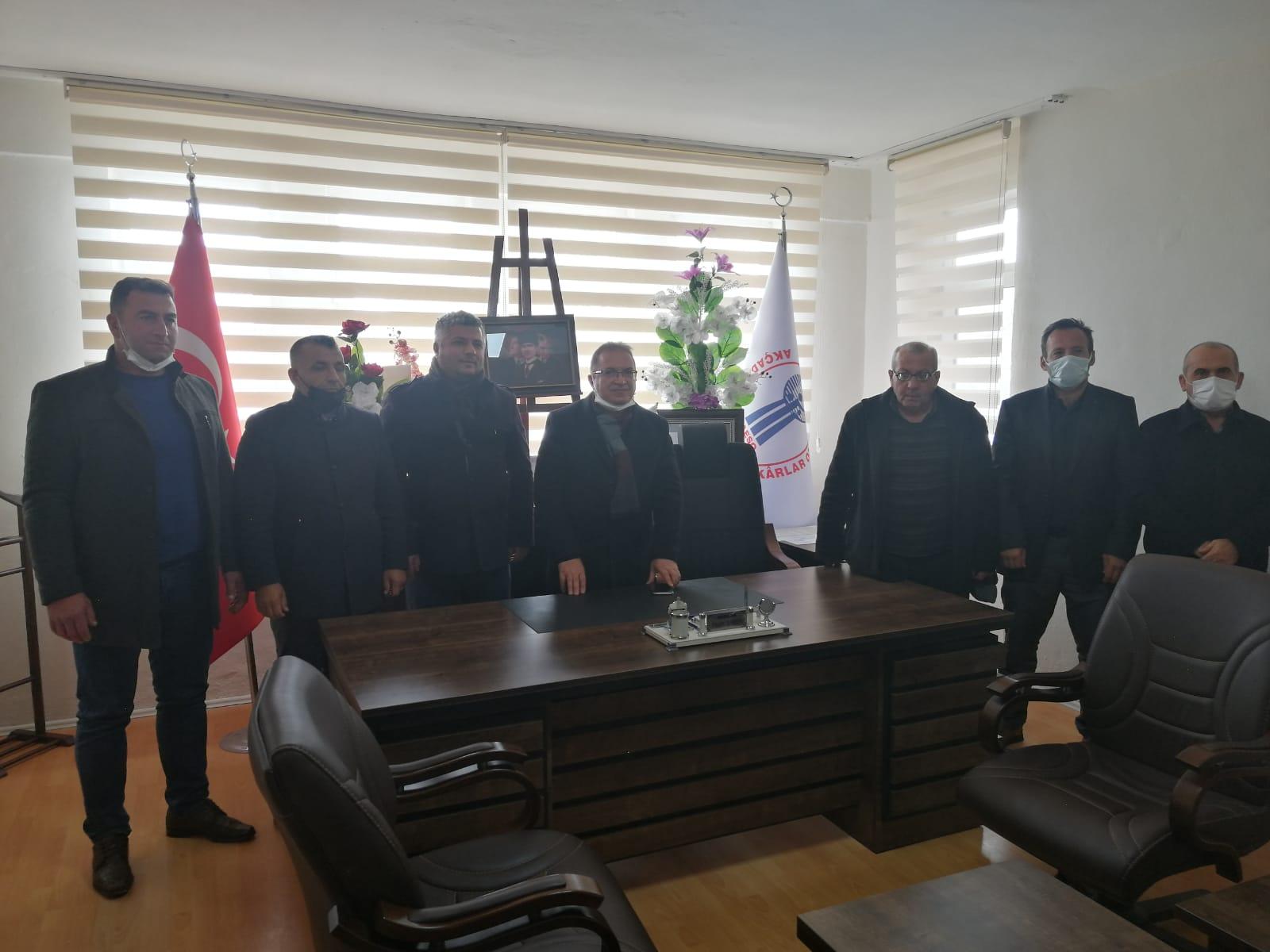 Başkan Kazgan Esnafın Sorunları Dinledi Projelerini Anlattı
