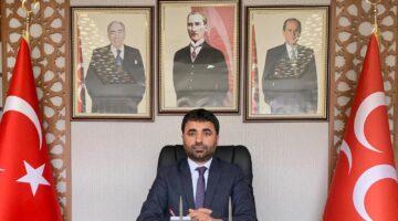 """MHP İl Başkanı Samanlı """"Ermeni'nin yaptığı bu zulmü unutmayacağız, unutturmayacağız!"""""""
