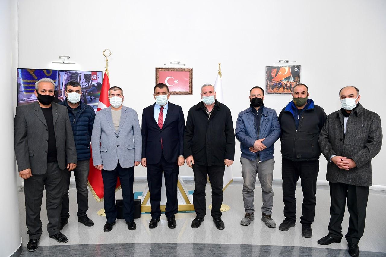Başkan Gürkan: Fikir Ve Önerilere Her Zaman Açığız
