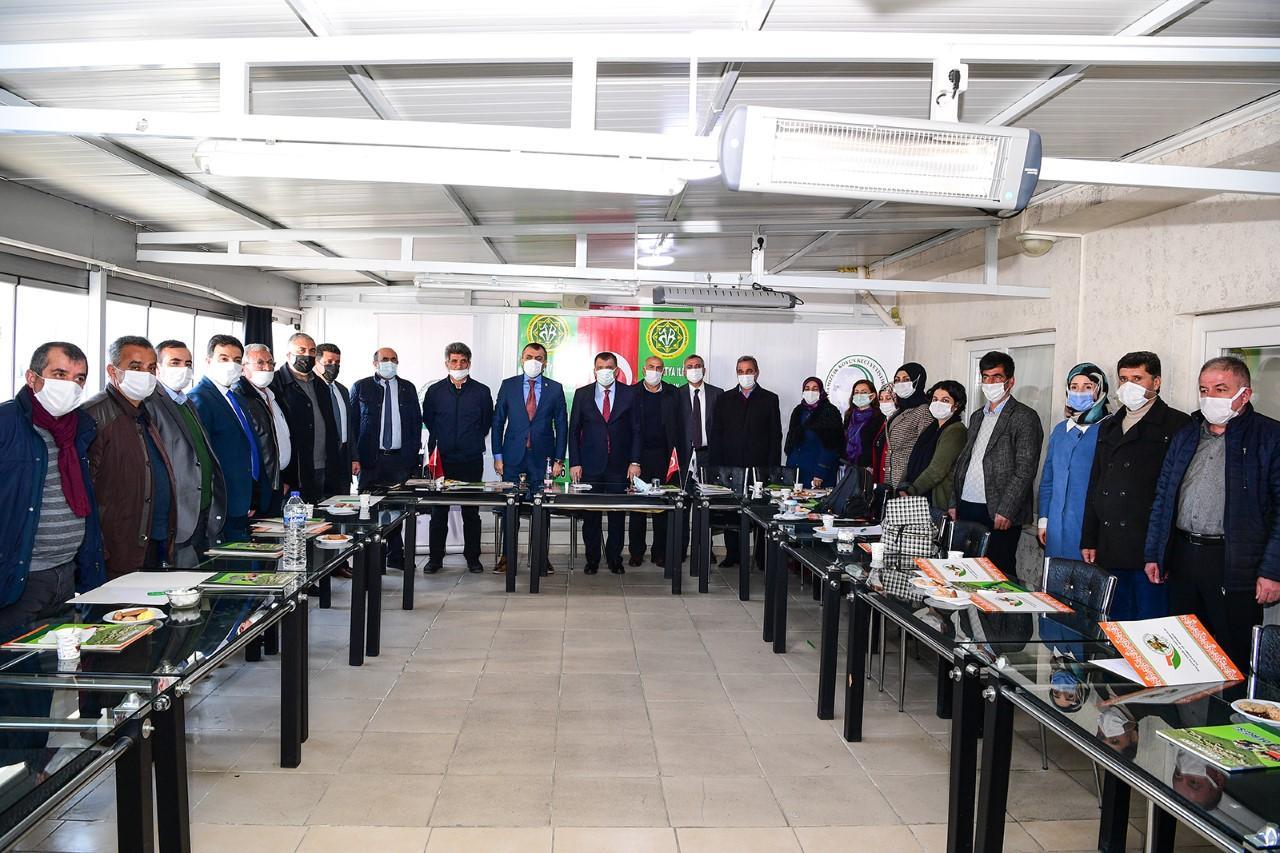 Başkan Gürkan Tarım Platformu İstişare Toplantısına Katıldı