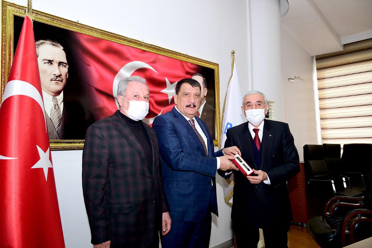 """ESKKK Başkanı Evren'i Kabul Eden Başkan Gürkan:  """"Kanaat Önderlerinin Fikir Ve Görüşleri Bizim İçin Önemlidir"""""""
