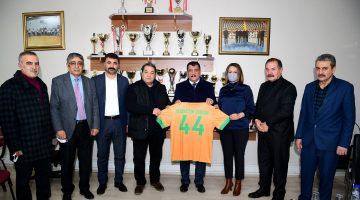 Gürkan ve Fendoğlu'dan Büyükşehirspor'a Ziyaret