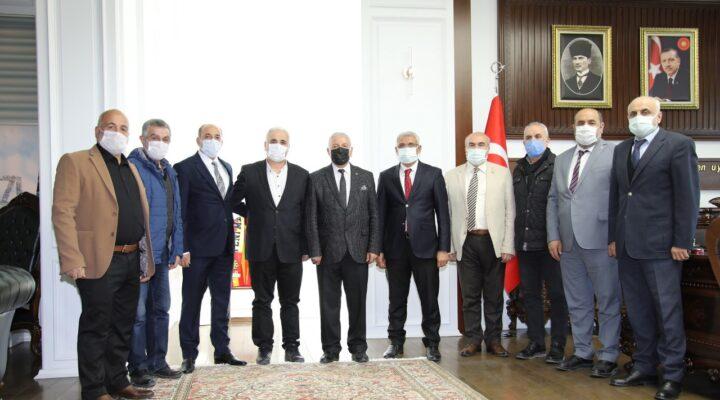MASKF'dan Başkan Güder'e Anlamlı Ziyaret