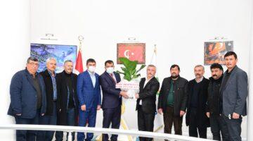 Hekimhan MHP Teşkilatı'ndan Başkan Gürkan'a Ziyaret