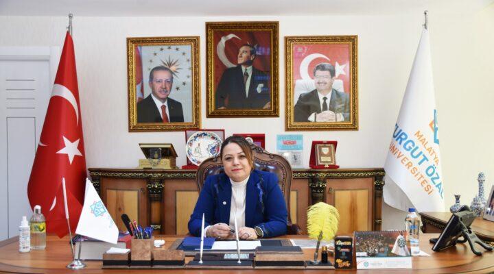 Rektör Prof. Dr. Aysun Bay Karabulut'tan 23 Nisan mesajı