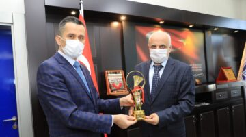 Federasyon Başkanı Özmekik'ten Battalgazi Belediyesi'ne Teşekkür Ziyareti