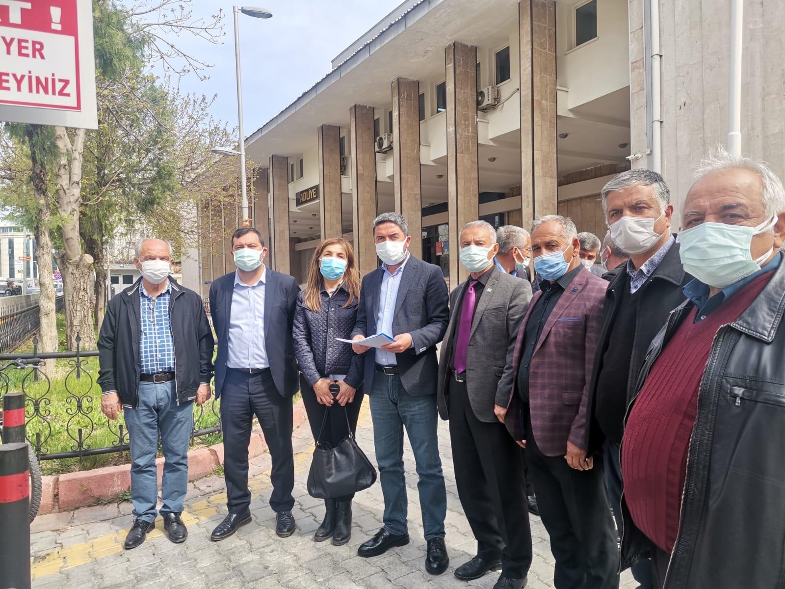 CHP'den Yeşilyurt Belediyesi'ne Suç Duyurusu