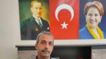 """İYİ Parti İlçe Başkanı Mehmet Özcan """"Belediye insan kaçakçılığını resmî hale getirmişler"""""""